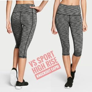 VS Sport High Rise Knockout Capri Sz XS